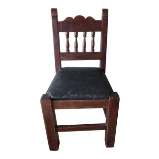 Child's Oak Chair For Sale