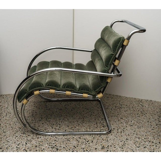 Mies Van Der Rohe 1927 Design Style Lounge Chair - 5 Are Available For Sale In West Palm - Image 6 of 13