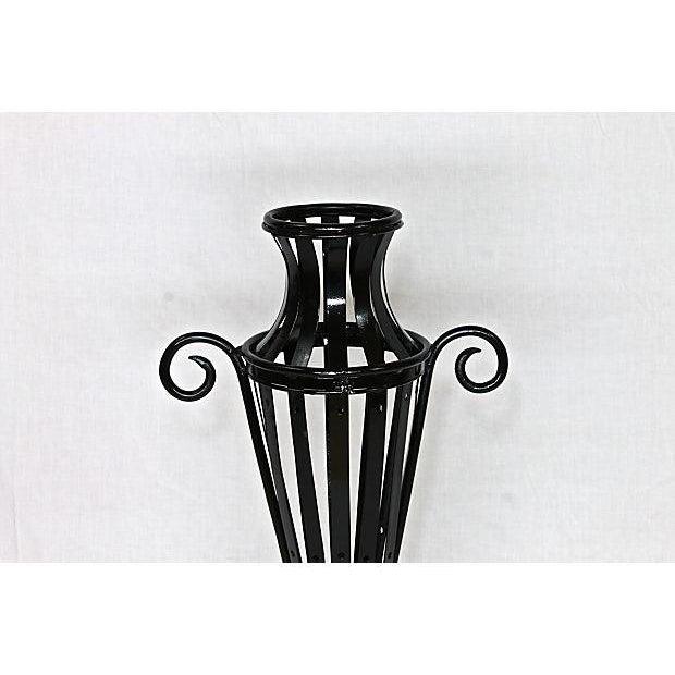 Wrought Iron Garden Urn - Image 6 of 7