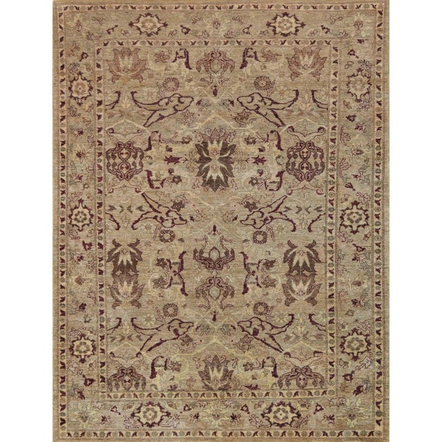 Mansour Quality Agra Rug - 6′ × 7′10″ For Sale