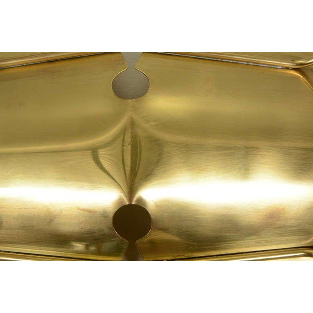 Brass Ikora Brass Serving Plate For Sale - Image 7 of 8
