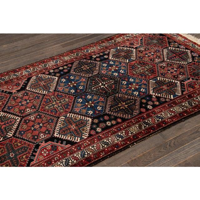 Vintage Bakhtiari Wool Rug 4'4'' X 7'2'' For Sale - Image 10 of 12