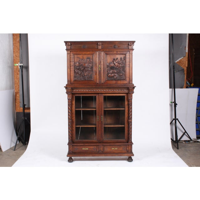 19th-Century Black Forest German Cabinet - Image 11 of 11