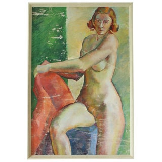 Mid -Century Nude For Sale