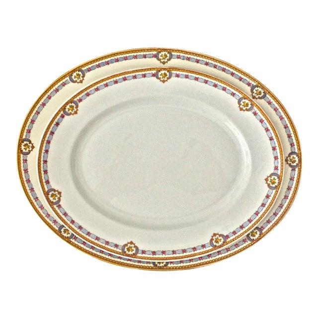 1930s Vintage Limoges Bernardaud Serving Platters - A Pair For Sale