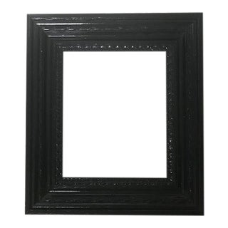 Dutch Black Lacquered Frame For Sale