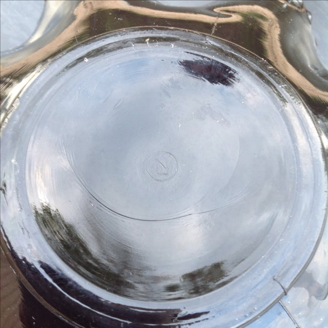 North Wood Oxblood Carnival Glass Grape & Cable Bowl - Image 8 of 8