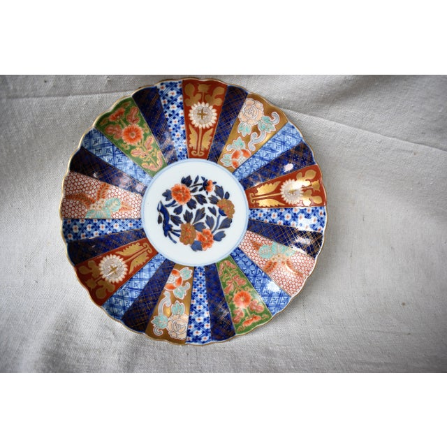 Vintage Imari Japanese Plate For Sale In New Orleans - Image 6 of 8