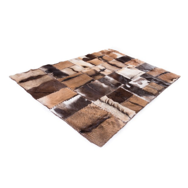 """Aydin Goatskin Patchwork Accent Area Rug - 4'7"""" x 6'7"""" - Image 9 of 9"""