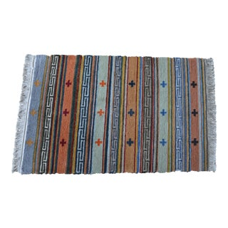 Tibetan Handwoven Traditional Rug - 1′9″ × 2′9″