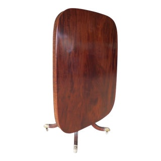 Antique Regency 19th Century Mahogany Tilt Top Breakfast Table For Sale