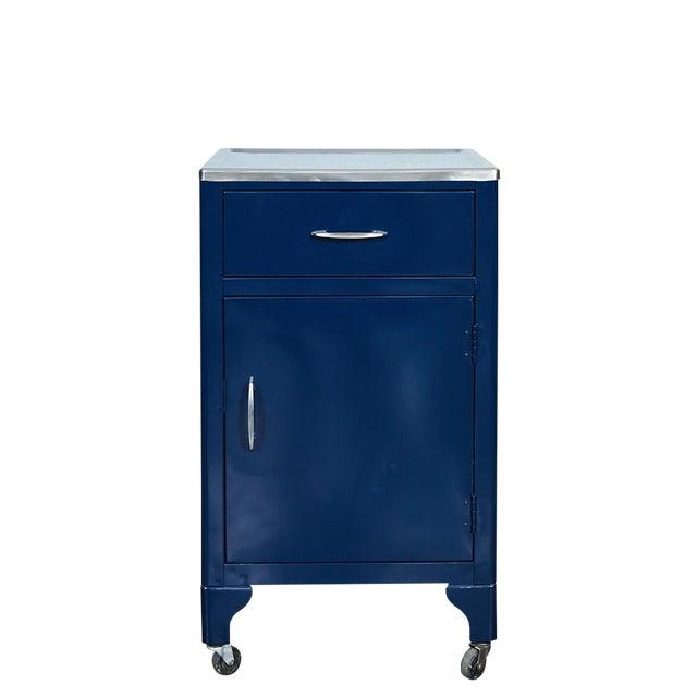 Blue FPI Industry 1964 Metal Cabinet For Sale