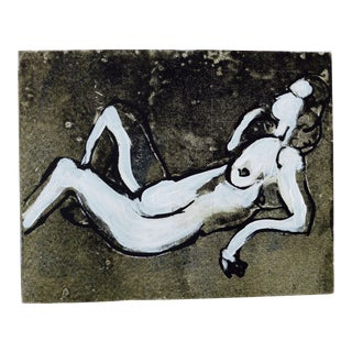 """""""Nude in Black and White"""" by Martha Holden"""