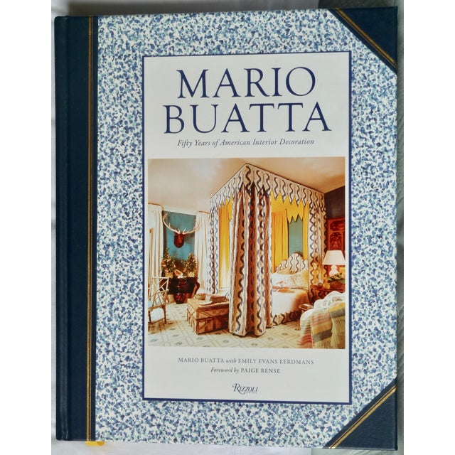 Blue Mario Buatta, Interior Decorator Book For Sale - Image 8 of 8