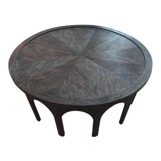 Cerused Oak Coffee Table For Sale