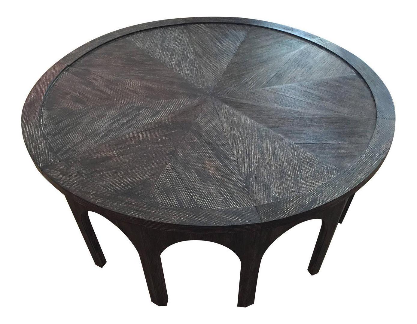 Cerused Oak Coffee Table