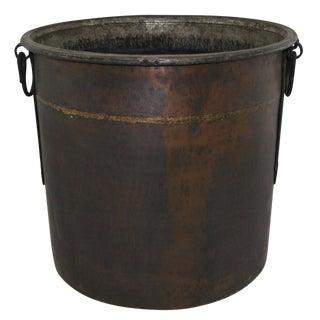 Ultra Heavy Hand-Hammered Copper Cauldron