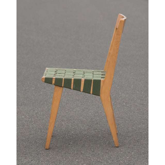 Mid-Century Modern 1940s Mid-Century Modern Jens Risom for Knoll Side Chair For Sale - Image 3 of 10