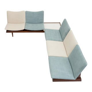 Two-Piece Modular Seating Group by Gerald McCabe For Sale