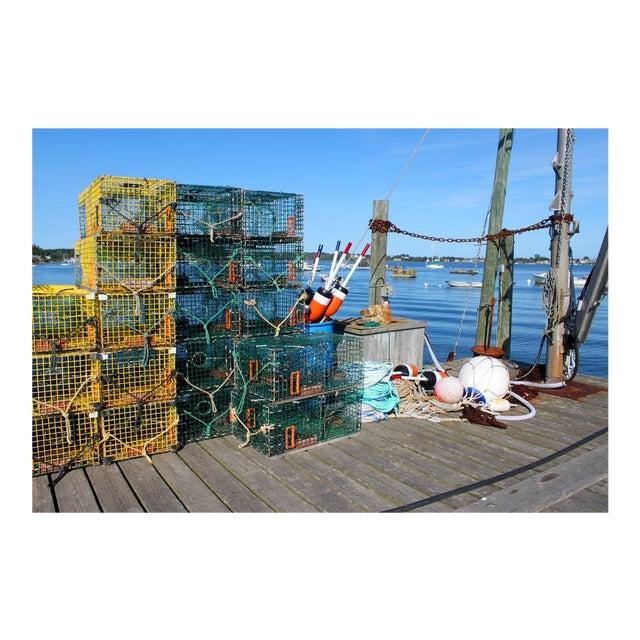 Lobster Traps Photograph by Josh Moulton For Sale