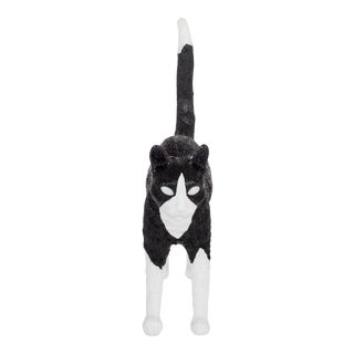Seletti, Jobby Cat Lamp, Black & White, Studio Job, 2016 For Sale
