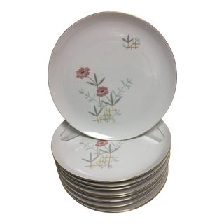 Eschenbach Bavarian Plates - Set of 10 For Sale