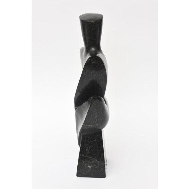 Stone Vintage Modernist Granite Sculpture For Sale - Image 7 of 11