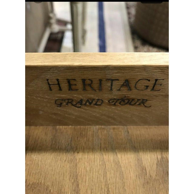 Heritage Grand Tour Rustic Solid Wood Buffet Server For Sale In Miami - Image 6 of 6
