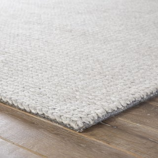 Jaipur Living Braiden Handmade Light Gray Area Rug - 5′ × 8′ Preview