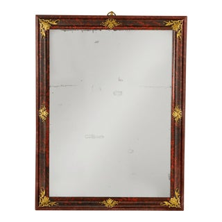 Louis XIV Period Tortoiseshell Mirror For Sale