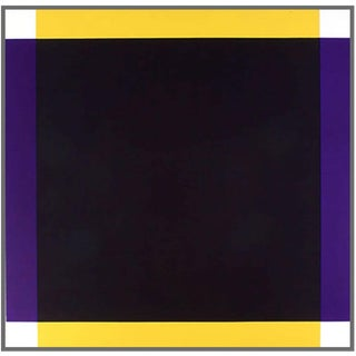 Yellow/Violet Void by John Donovan 2004 For Sale