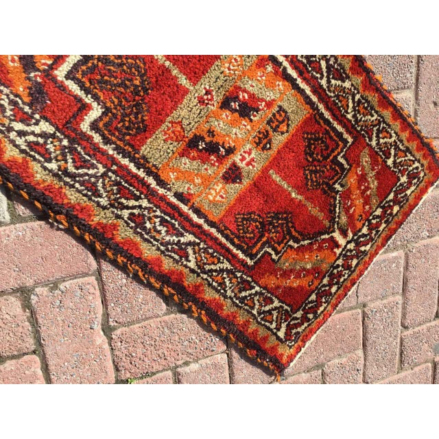 Vintage Anatolian Area Rug For Sale - Image 5 of 8