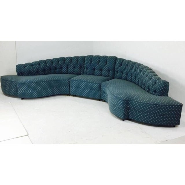 1930's Regency Sectional With Ottoman - A Pair For Sale - Image 4 of 7