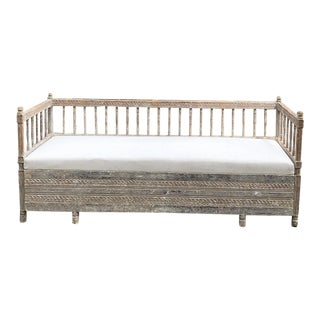 Day Bed/Sofa, 19th Century Swedish Neoclassical With Trundle Bed For Sale