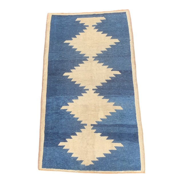 1950's Vintage Persian Gabbeh Tribal Rug- 3′1″ × 5′9″ For Sale