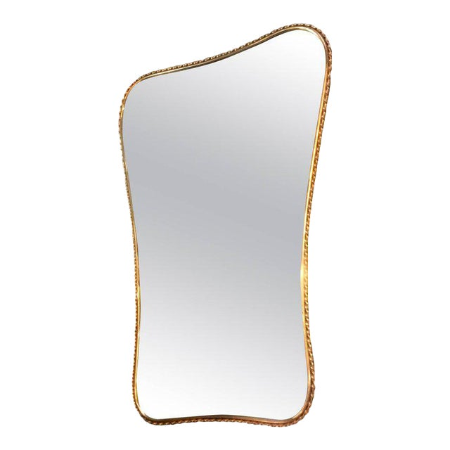 Brass Mirror, Italian 1960s - Image 1 of 7