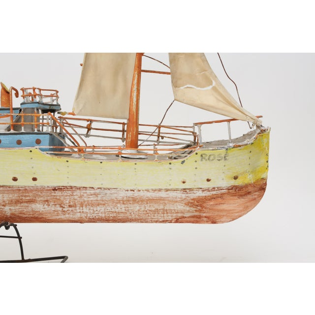 Large Model Boat Ship with Stand - Image 4 of 9