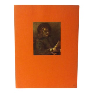 """Mounted Vintage Print on Paper, """"Titus - Rembrandt's Son - 1656"""" by Rembrandt - Circa 1930 For Sale"""