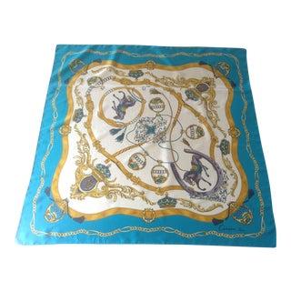 Carven Paris Silk Scarf