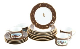 Image of Feather Tableware and Barware