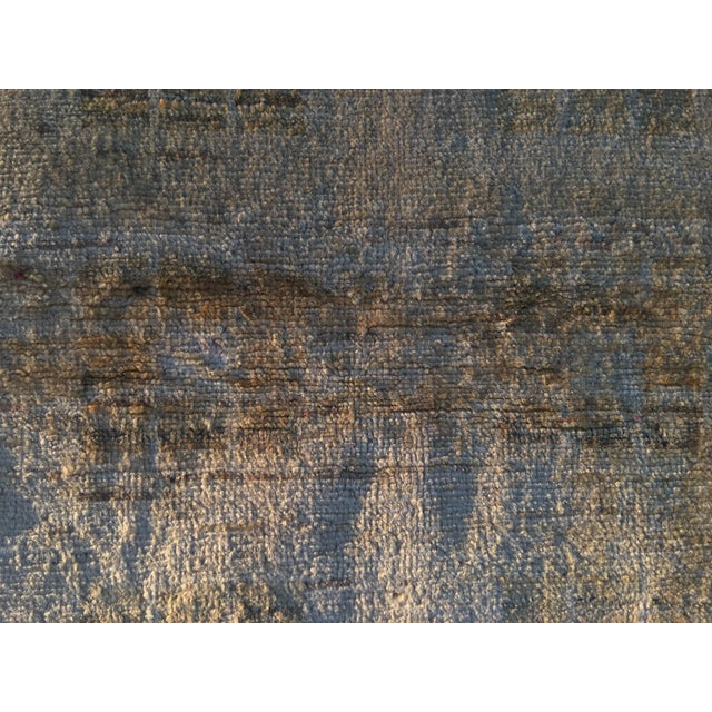 Persian Vintage Sultanabad Rug - 4′ × 5′8″ - Image 5 of 11