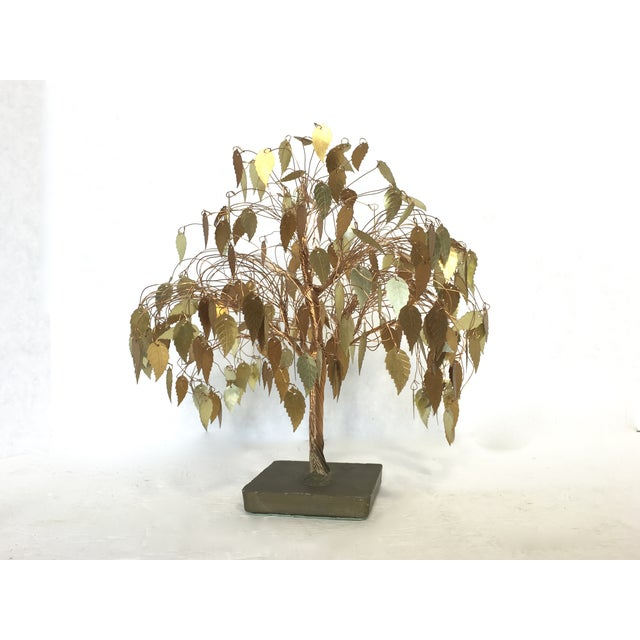 Vintage Wire Tree Sculpture - Image 2 of 4