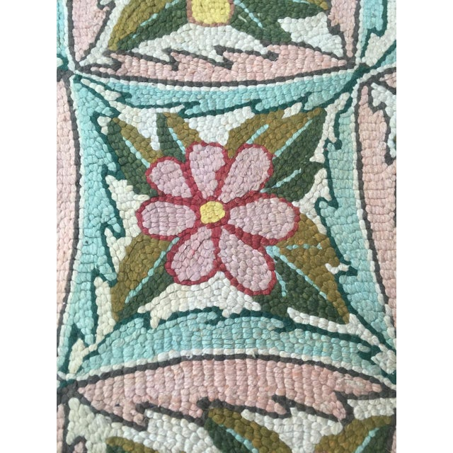 Treasure Chest Mutual Hand-Hooked Rug - 9' x 12' For Sale - Image 11 of 11