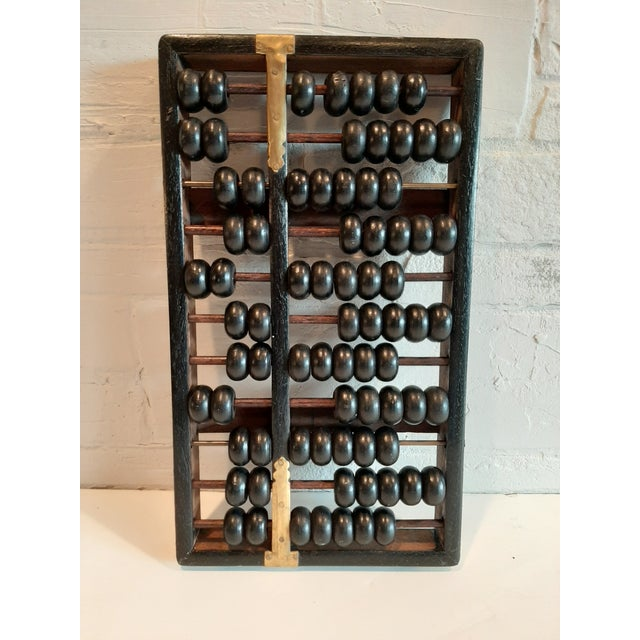 Vintage Chinese Abacus For Sale - Image 4 of 5