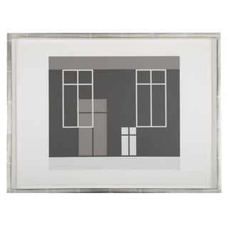 Josef Albers From Formulation: Articulation, 1972. Silkscreen Prints, Folio I / Folder 21 For Sale