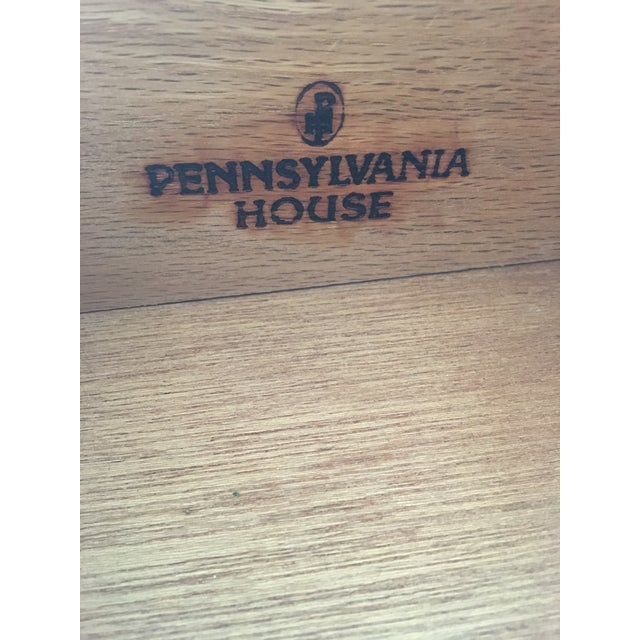 Pennsylvania House Cherry Chinese Chippendale Style 9 Drawer Chest on Chest For Sale - Image 12 of 13
