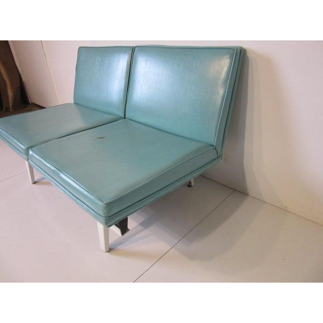 Herman Miller George Nelson Steelframe Sofa / Loveseat by Herman Miller For Sale - Image 4 of 9