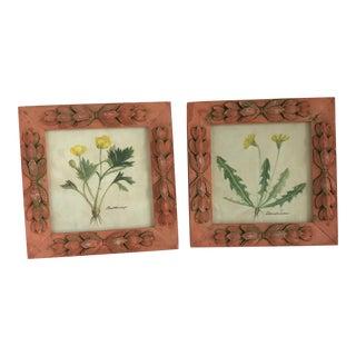 Wildflowers Framed Prints - A Pair