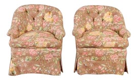 Image of English Traditional Lounge Chairs