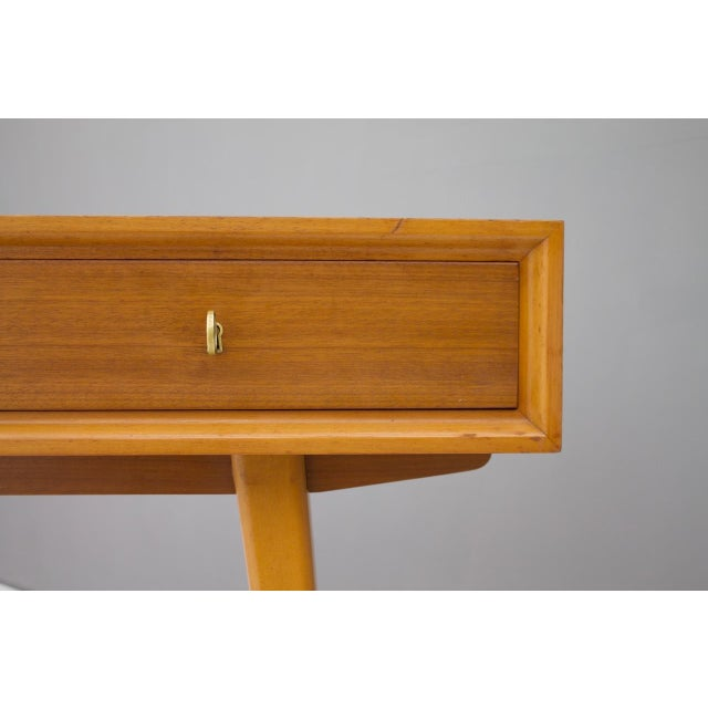 Console Table Vanity by Helmut Magg, Germany, 1950s For Sale - Image 12 of 13